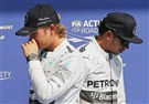 Bad day for Mercedes and Lewis Hamilto